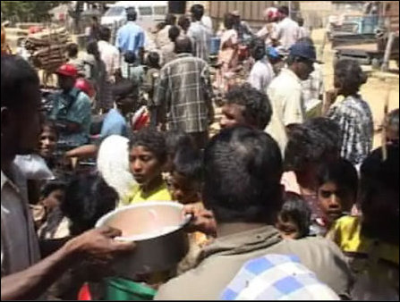 LTTE supplying Ilaik-kagnchi to civilians in Vanni