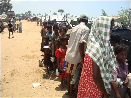 IDPs waiting for Kagnchi