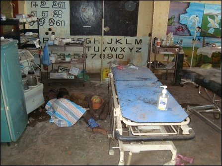 SLA massacres patients with targeted shelling, 64 killed in hospital