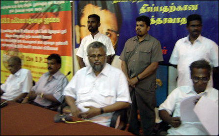 EPDP press meet in Jaffna