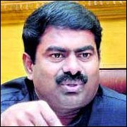 Film Director and Tamil activist Seeman