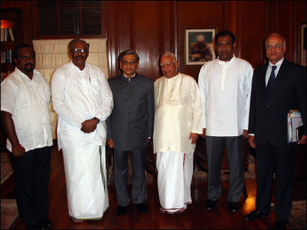 TNA meets Indian leaders