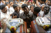 Funeral of Moothoor ACF workers (Courtesy: Reuters)