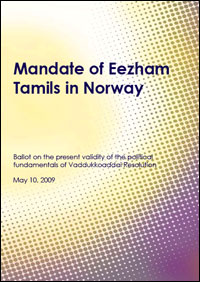 Documentation of Norwegian Tamil Mandate