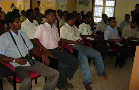 32 journalists from Trincomalee