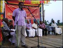 TNA election campaign meeting in Jaffna