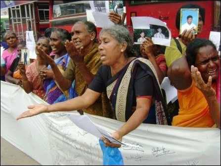JVP-backed protest demonstration