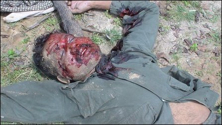 EX LTTE sources say the dead body in the picture belongs to Col. Ramesh, the former Batticaloa comma