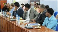 Natchiappan visits Jaffna with foreign parliamentarians