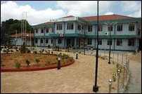 The renovated hospital at Chaavakachcheari