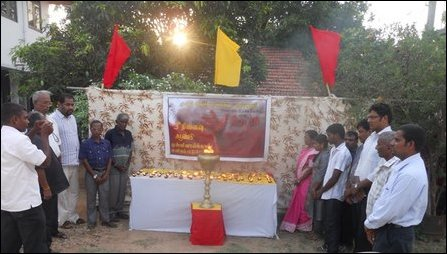 Remembrance event by TNPF on 18 May 2012