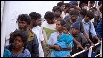 Tamil refugees (Courtesy: SMH)