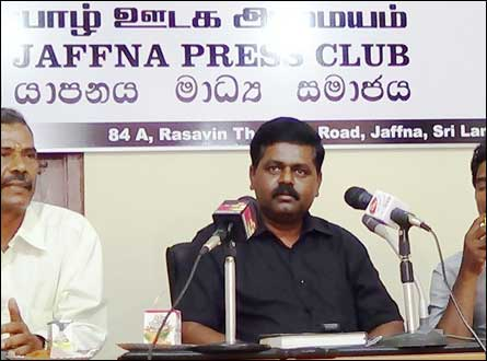 Sritharan press conference