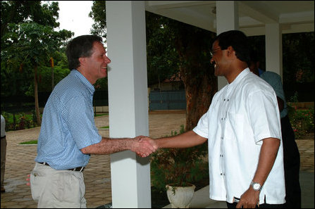 New Zealand MP meets LTTE
