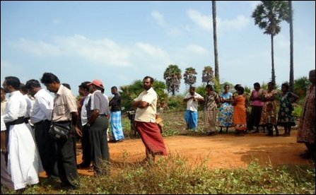 Peasaalai villagers mobilize against genocidal land grab