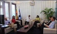 US delegation visiting SL Governor of North