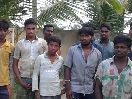 Fishermen from Tamil Nadu detained arrested by the SL Navy