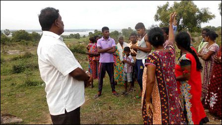 EPC Councillor Rajeswaran at Va'laththaap-piddi