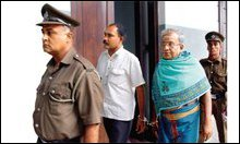 Varatharajan and Ragupathy Sarma: found guilty in Chandrika case