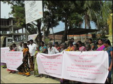 February 04 Black flag protest in Mannaar