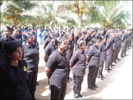 CSD members forced to sing 'Sri Lanka' anthem in Sinhala
