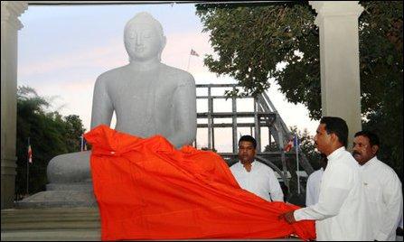 SL Military Buddha Statue