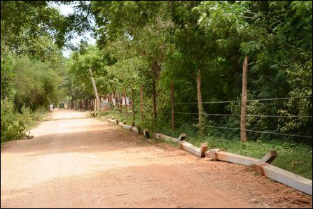 New military fences in Valikaamam North