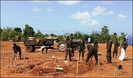 Maaviddapuram  housing scheme by SL military