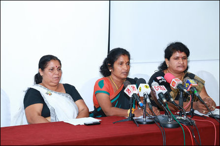 Conference, Picketing in Colombo on Missing Persons Day