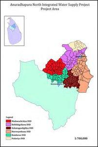 6 divisions in Anuradhapura
