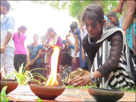 Memorial event at University of Jaffna
