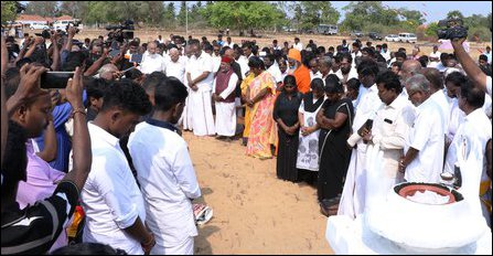 Remembrance event organised at Mu'l'livaaykkaal by the NPC