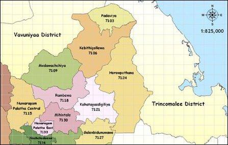 NCP and Anuradhapura district