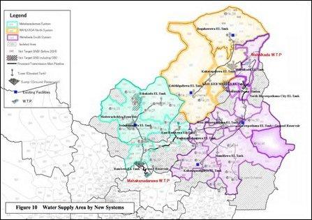 Yan Oya Water Supply Area