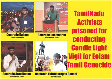Detained Tamil Nadu activists