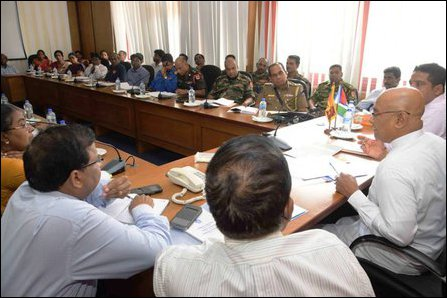 Cooray meeting with military and civil