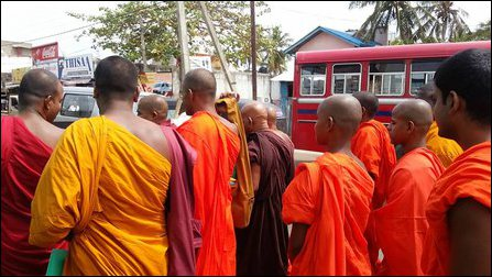 Child monks groomed for future extremism