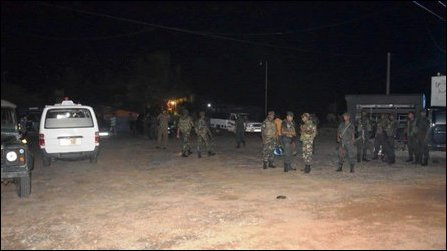 SLA cordon and search operation of Muslim suburb in Jaffna