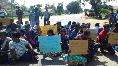 Protests in Puthuk-kaadu
