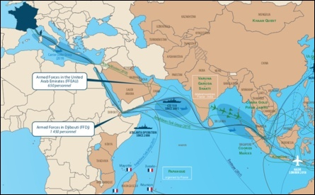 French forces activities in the Indo-Pacific, 2016-2019