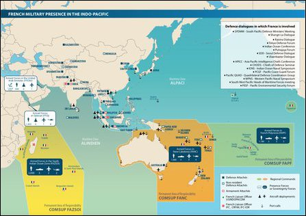 French military presence in the Indo-Pacific